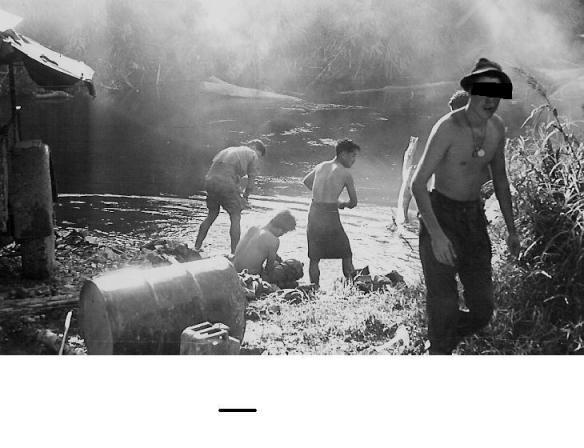 Laundry and Bath Unit in Borneo