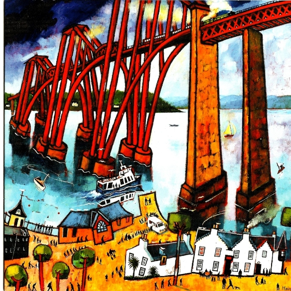 Crossing the Bridge by Rob Hain