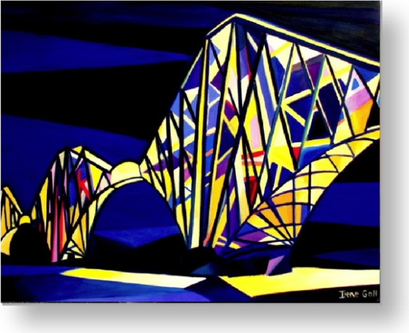 Forth bridge by Irene Gall