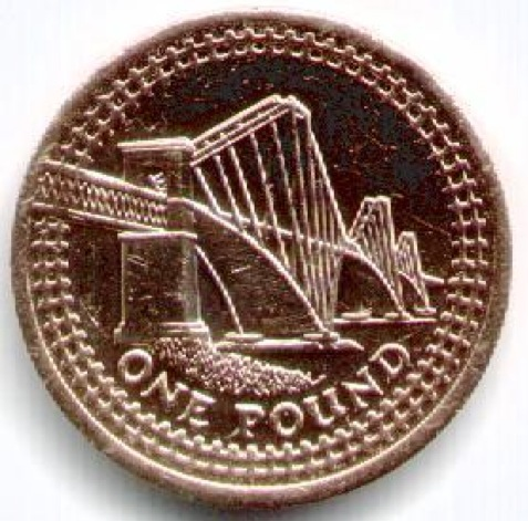 Scottish £1 coin