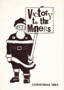 Miners christmas card