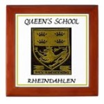 Queens school badge