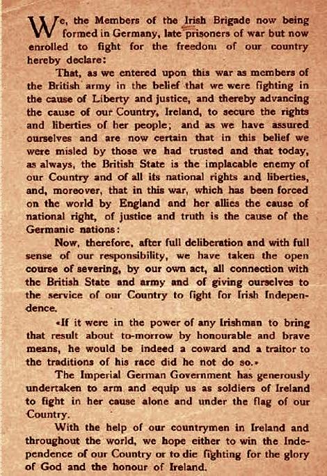 Oath for the Irish Brigade